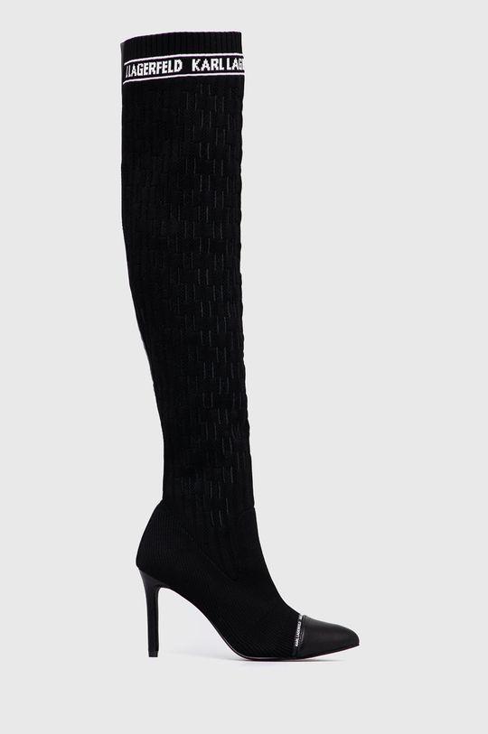 negru Karl Lagerfeld - Cizme De femei