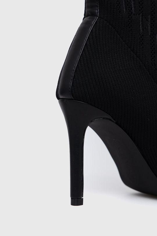 Karl Lagerfeld - Cizme  Gamba: Material textil, Piele naturala Interiorul: Material sintetic, Material textil, Piele naturala Talpa: Material sintetic