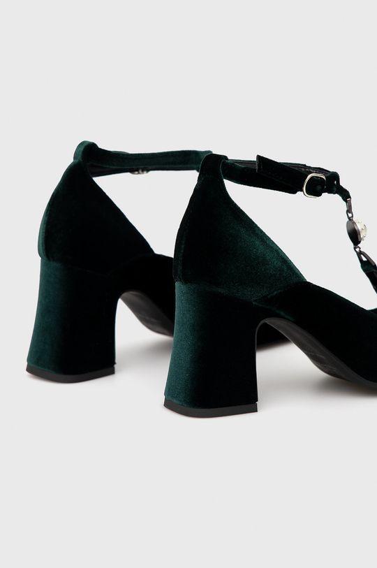 Karl Lagerfeld - Czółenka Cholewka: Materiał tekstylny, Wnętrze: Materiał syntetyczny, Materiał tekstylny, Podeszwa: Materiał syntetyczny