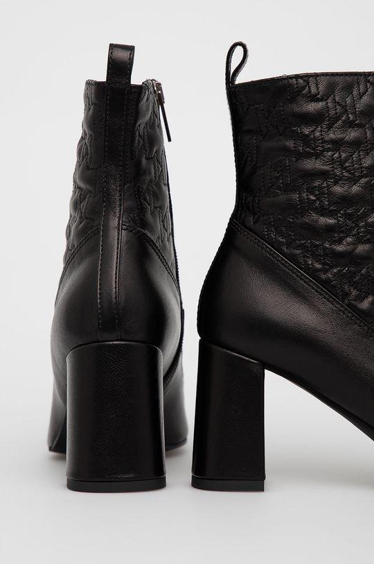 Karl Lagerfeld - Kožené kotníkové boty  Svršek: Kůže Vnitřek: Umělá hmota, Kůže Podrážka: Umělá hmota
