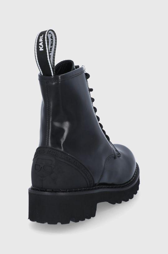 Karl Lagerfeld - Workery skórzane Troupe Cholewka: Skóra naturalna, Wnętrze: Skóra naturalna, Podeszwa: Materiał syntetyczny