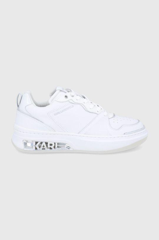 biały Karl Lagerfeld - Buty Elektra Damski