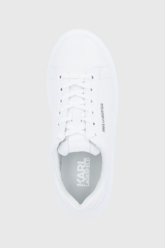 biały Karl Lagerfeld - Buty skórzane Kapri