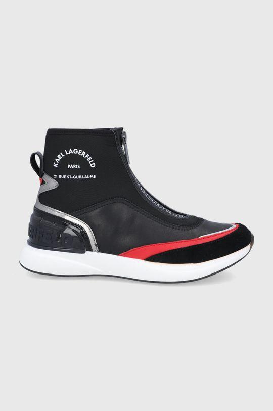 czarny Karl Lagerfeld - Buty Damski
