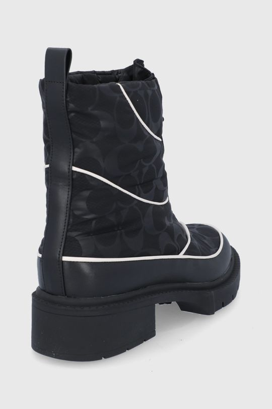 Coach - Śniegowce Cholewka: Materiał tekstylny, Skóra naturalna, Wnętrze: Materiał syntetyczny, Materiał tekstylny, Podeszwa: Materiał syntetyczny