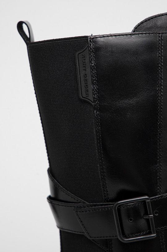 Kurt Geiger London - Botki skórzane Stint Lace Up Boot Cholewka: Materiał tekstylny, Skóra naturalna, Wnętrze: Materiał syntetyczny, Podeszwa: Materiał syntetyczny