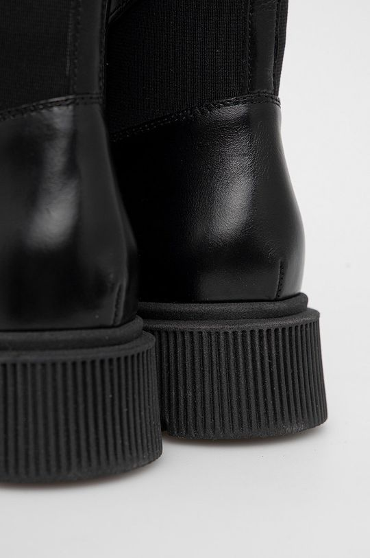 czarny Kurt Geiger London - Botki skórzane Stint Lace Up Boot