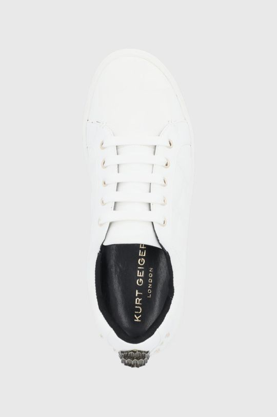 biela Kurt Geiger London - Topánky Ludo Quilted