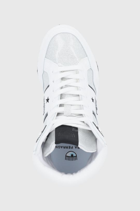 argintiu Chiara Ferragni - Pantofi