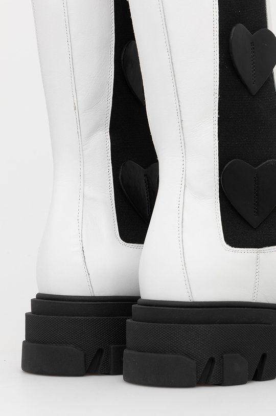 Chiara Ferragni - Ghete de piele Boot Hearts  Gamba: Piele naturala Interiorul: Piele naturala Talpa: Material sintetic