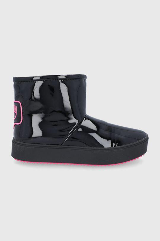 negru Chiara Ferragni - Cizme de iarna Ankle Boot De femei