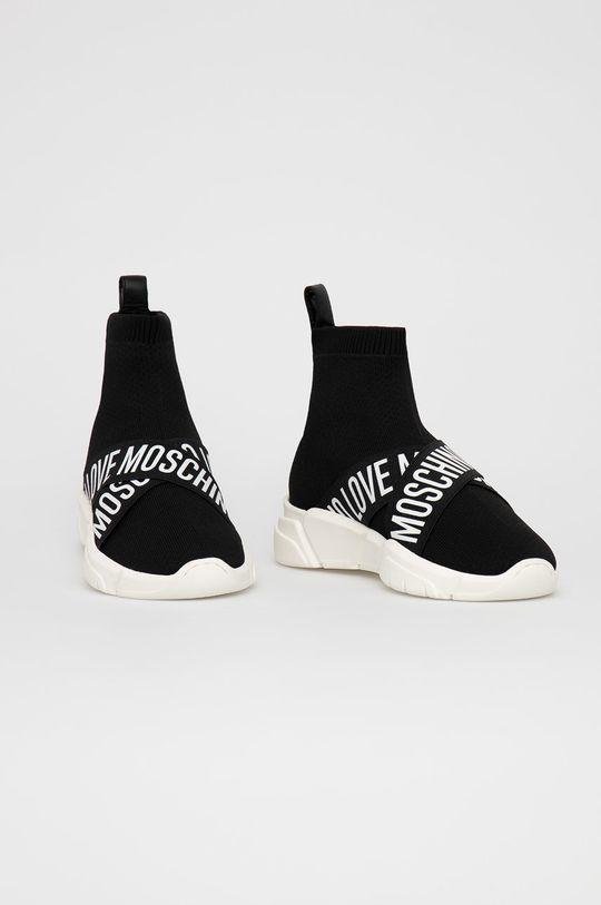 Love Moschino - Boty černá