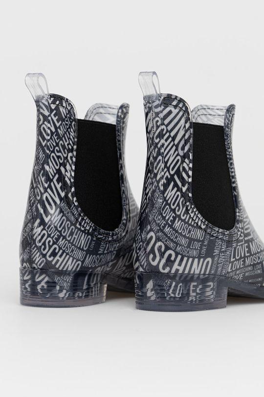 Love Moschino - Kalosze Cholewka: Materiał syntetyczny, Wnętrze: Materiał tekstylny, Podeszwa: Materiał syntetyczny