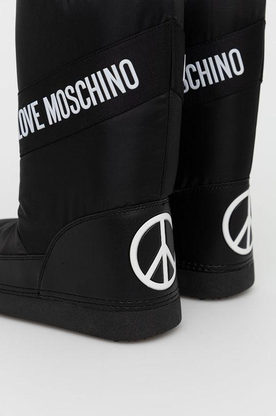 Love Moschino - Śniegowce Cholewka: Materiał syntetyczny, Materiał tekstylny, Wnętrze: Materiał tekstylny, Podeszwa: Materiał syntetyczny