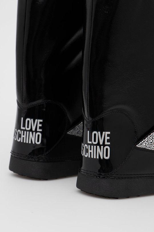 Love Moschino - Śniegowce Cholewka: Materiał syntetyczny, Wnętrze: Materiał tekstylny, Podeszwa: Materiał syntetyczny