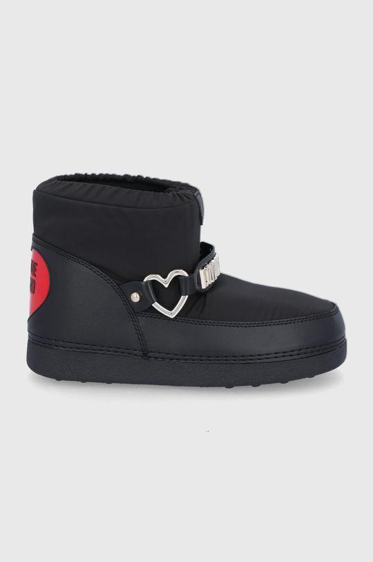 negru Love Moschino - Cizme de iarna De femei