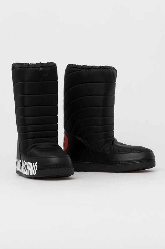 Love Moschino - Śniegowce czarny
