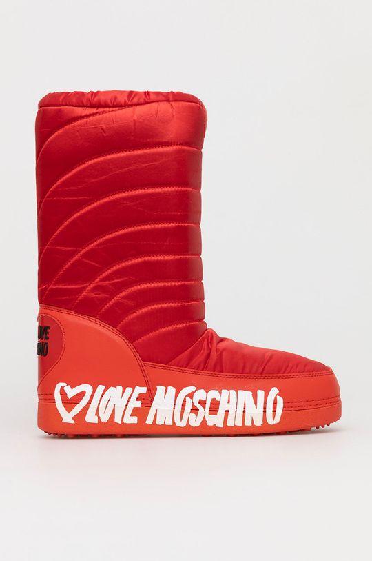 rosu Love Moschino - Cizme de iarna De femei