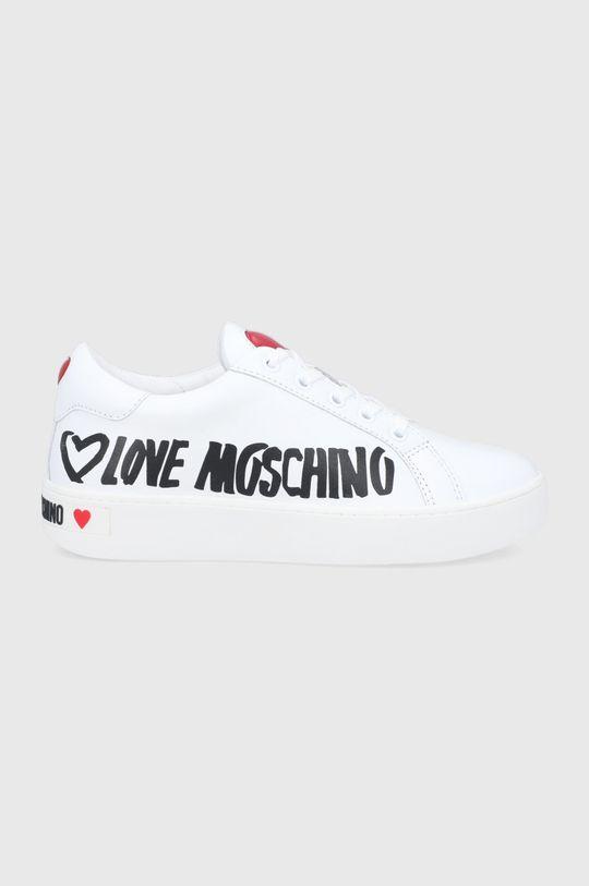 bílá Love Moschino - Boty Dámský