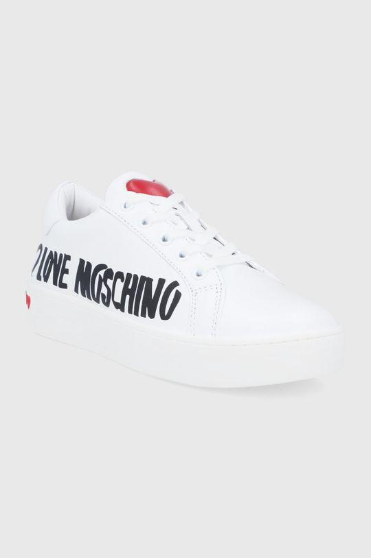 Love Moschino - Boty bílá
