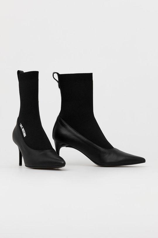 Love Moschino - Členkové topánky čierna