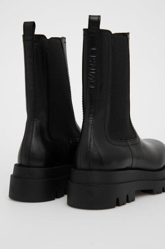 Twinset - Kožené kotníkové boty  Svršek: Přírodní kůže Vnitřek: Přírodní kůže Podrážka: Umělá hmota