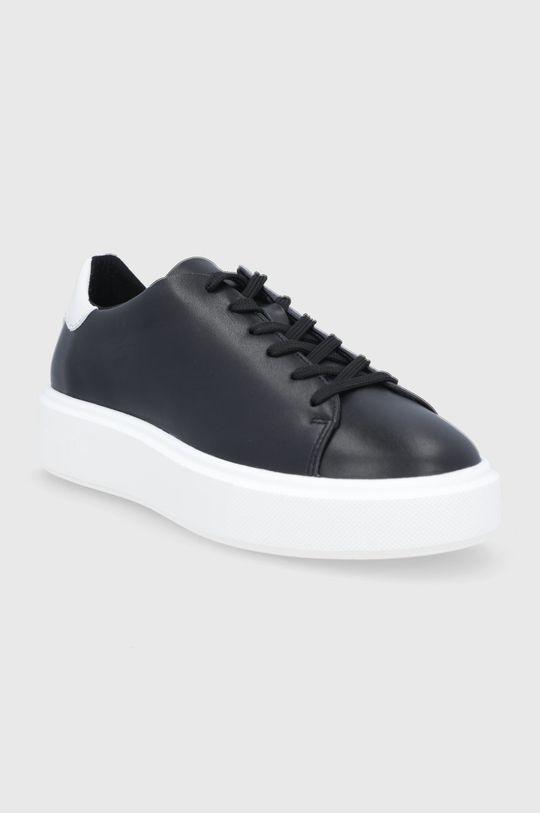 Marc O'Polo - Buty skórzane czarny