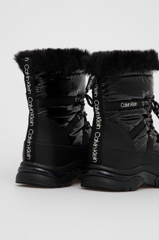 Calvin Klein - Śniegowce Cholewka: Materiał tekstylny, Skóra naturalna, Wnętrze: Materiał tekstylny, Podeszwa: Materiał syntetyczny