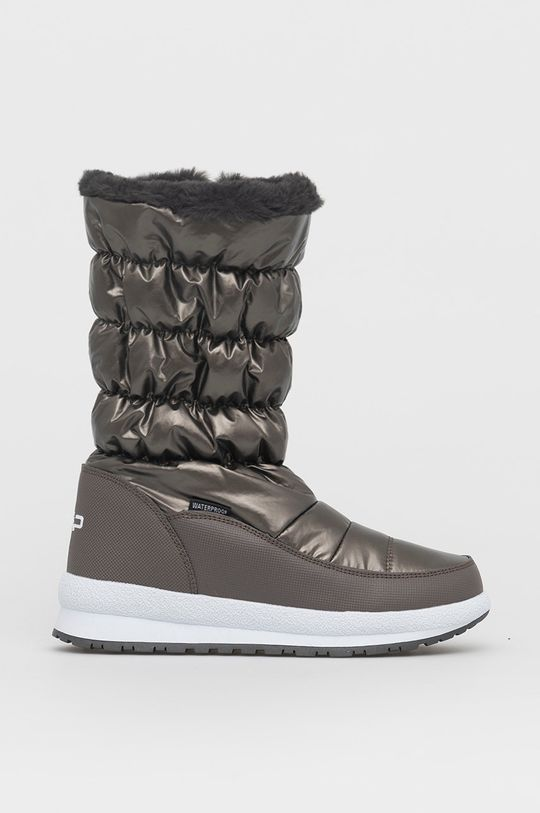 brudny brązowy CMP - Śniegowce Holse Damski