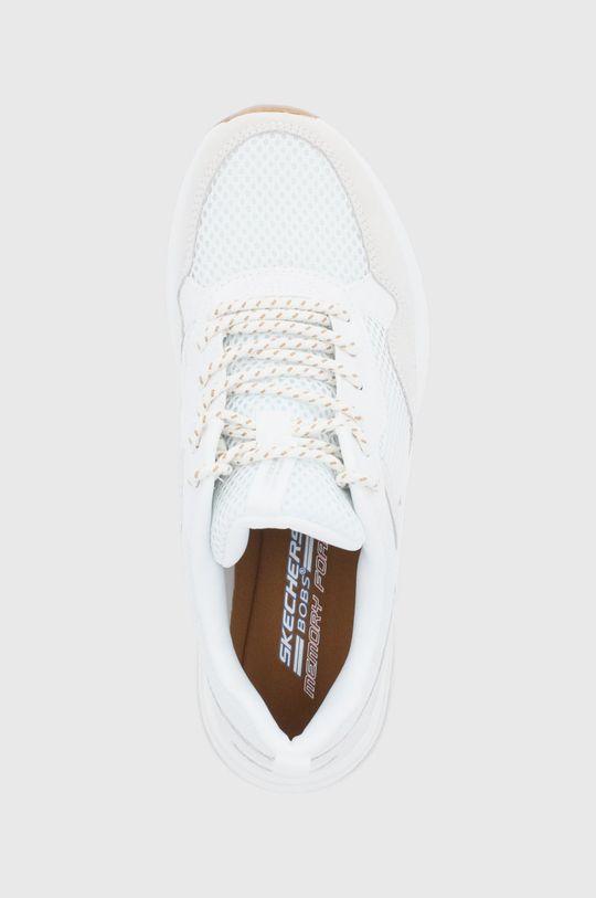 alb Skechers - Pantofi