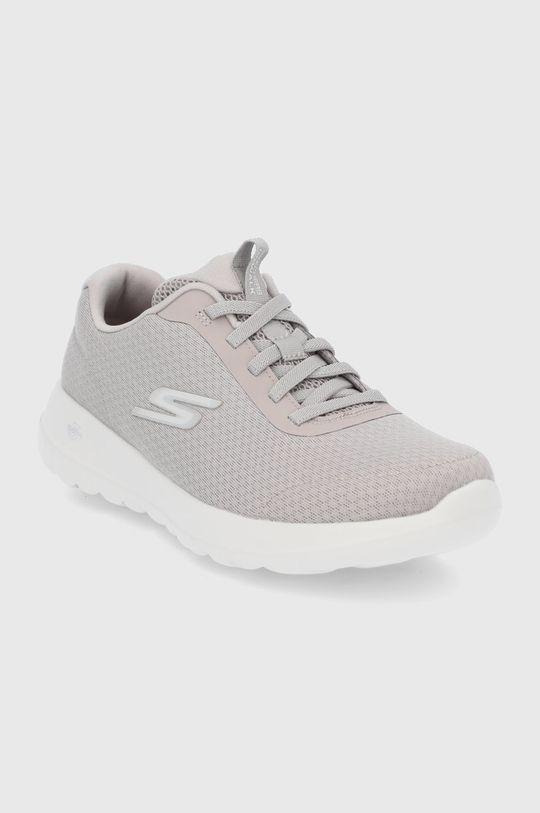 Skechers - Topánky svetlosivá