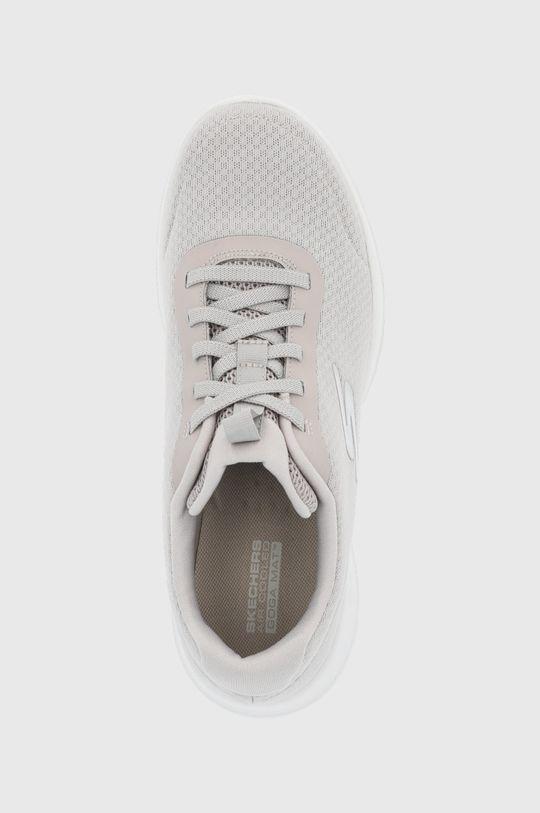svetlosivá Skechers - Topánky