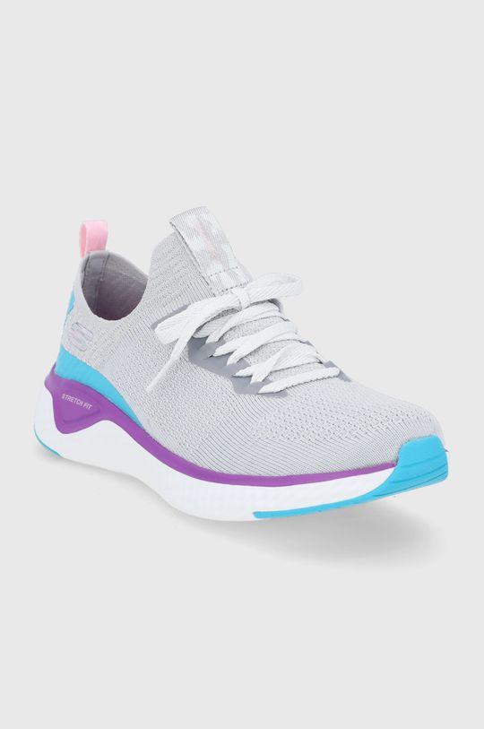Skechers - Pantofi gri deschis