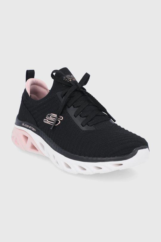 Skechers - Topánky čierna