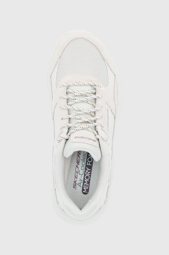 krémová Skechers - Topánky
