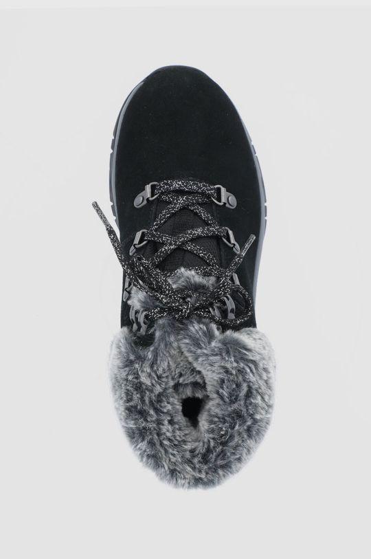 černá Skechers - Semišové sněhule