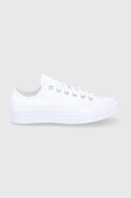 biały Converse - Tenisówki skórzane Damski