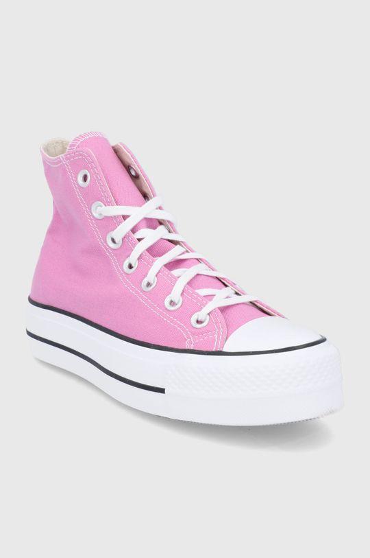 Converse - Tenisi roz murdar