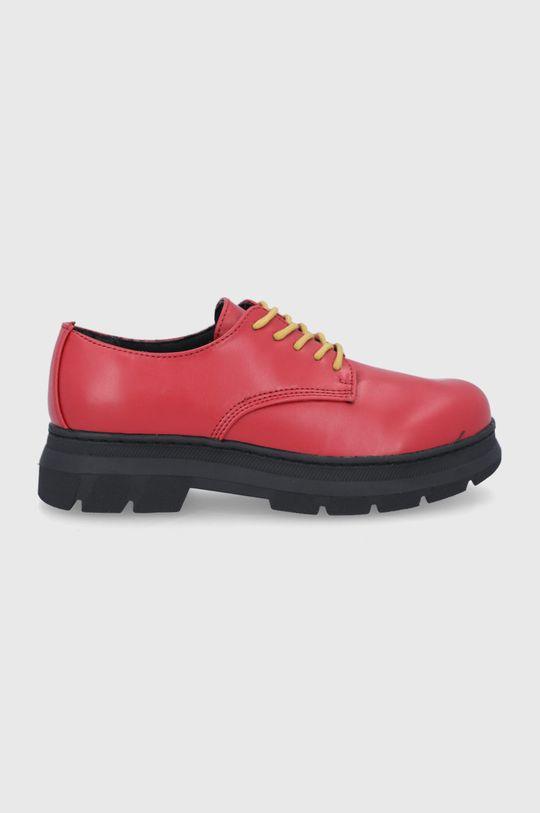 czerwony United Colors of Benetton - Półbuty Damski