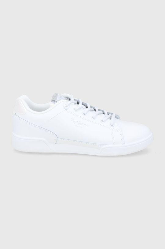 biały Pepe Jeans - Buty skórzane Lambert Damski