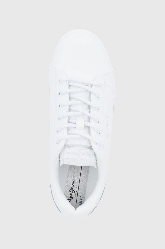 biały Pepe Jeans - Buty skórzane Lambert