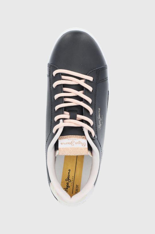czarny Pepe Jeans - Buty skórzane Lambert