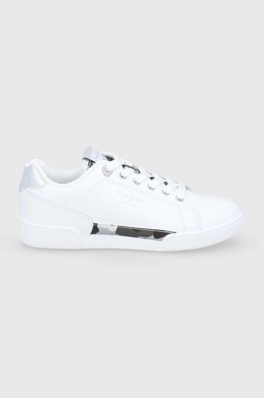 biały Pepe Jeans - Buty Lambert Damski