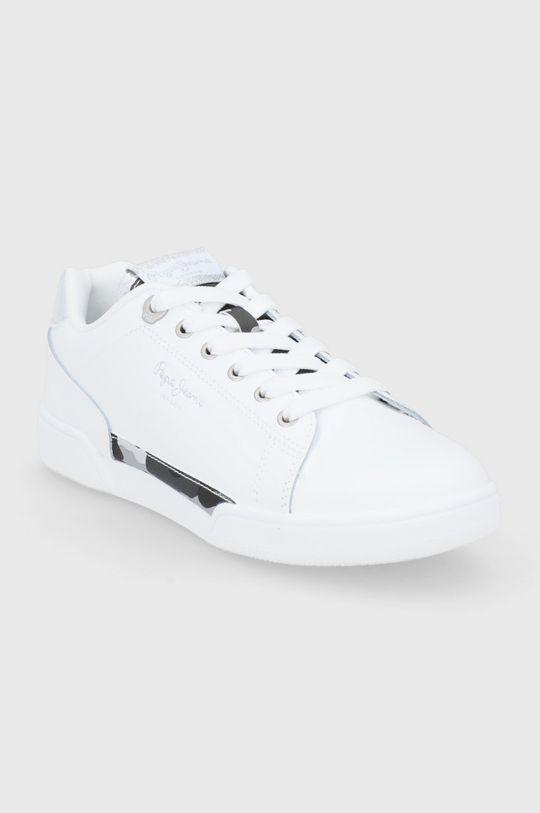 Pepe Jeans - Buty Lambert biały