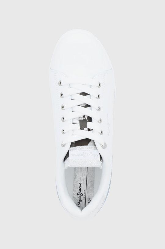 biały Pepe Jeans - Buty Lambert
