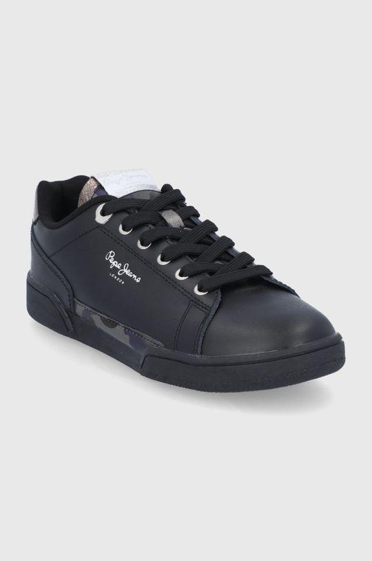 Pepe Jeans - Buty Lambert czarny