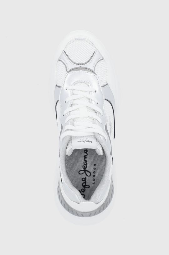 biały Pepe Jeans - Buty Eccles Galaxy