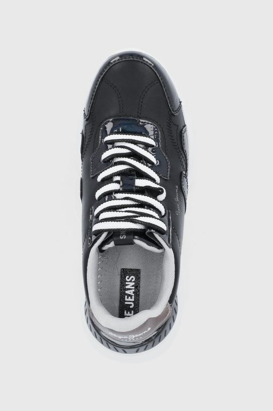 czarny Pepe Jeans - Buty Eccles Croco