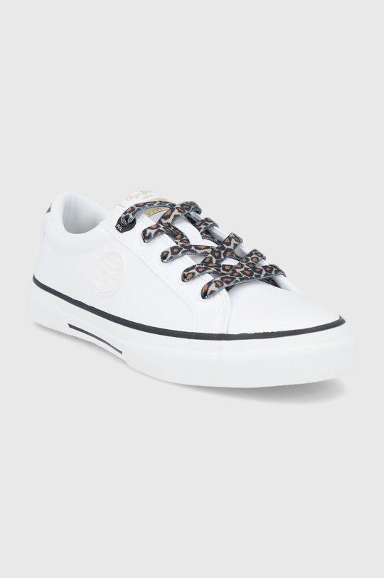 Pepe Jeans - Tenisówki Kenton Patty biały