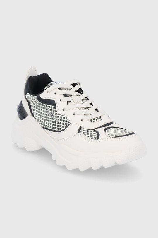 Pepe Jeans - Buty Eccles biały